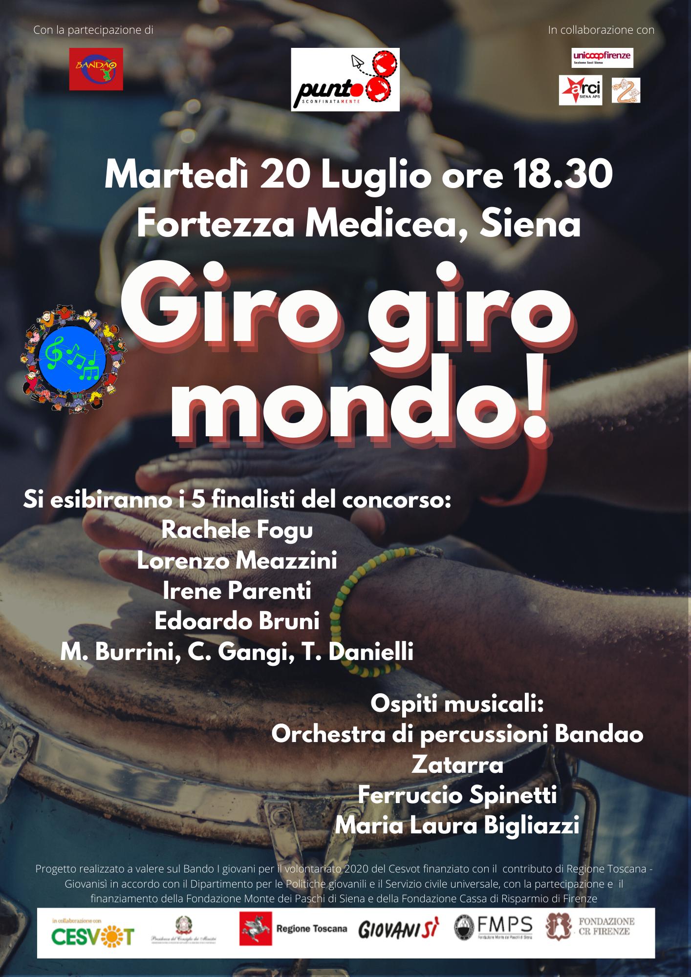 Giro Giro Mondo – Concerto finale